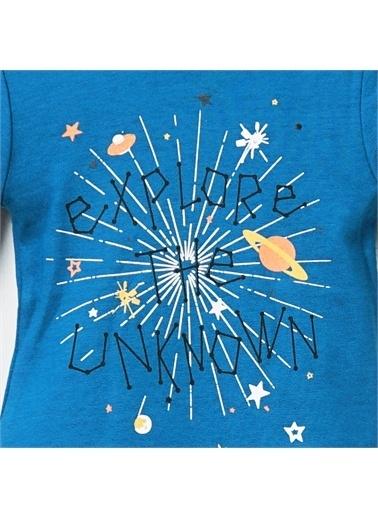 Panço Body Sweatshirt 19216084100 Mavi